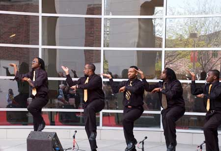 The open house is followed by the OASIS Stroll Off Competition at 5:30 p.m. on the Nebraska Union Plaza.