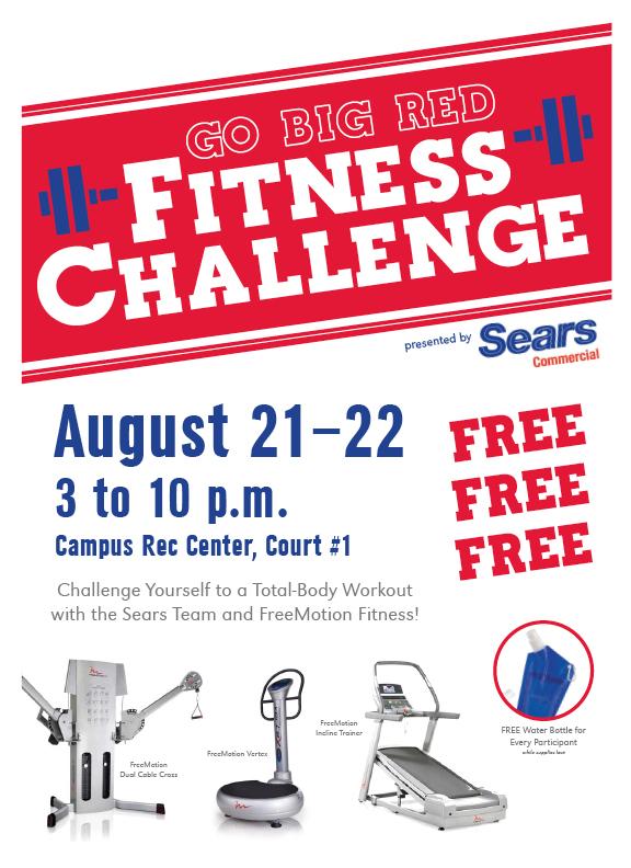 Go Big Red Fitness Challenge
