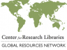 Logo of Center for Research Libraries