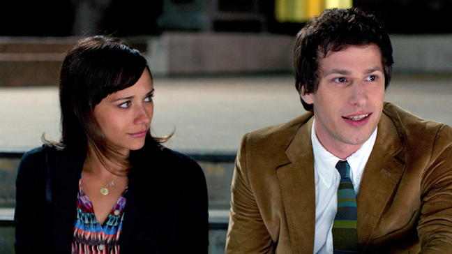 Andy Samberg and Rashida Jones in 'Celeste and Jesse Forever'