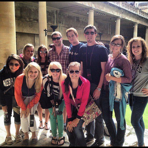 Nebraska at Oxford participants in Summer 2012.