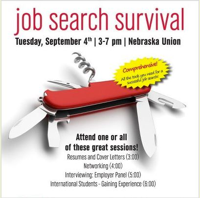 Job Search Survival is today!