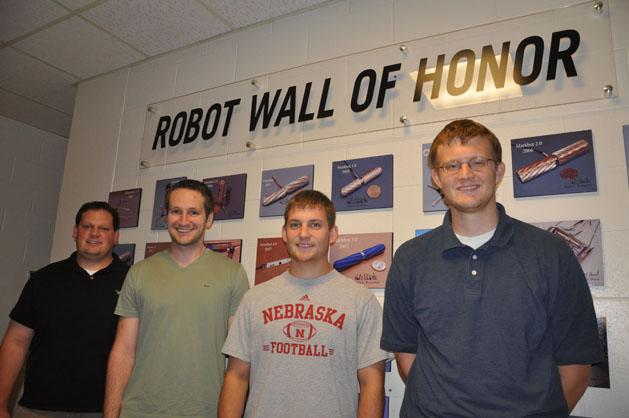 From left: Joe Bartels of Wauneta, Jack Mondry of Orlando, Fla., Eric Markvicka of Ravenna and Tom Frederick of Omaha.