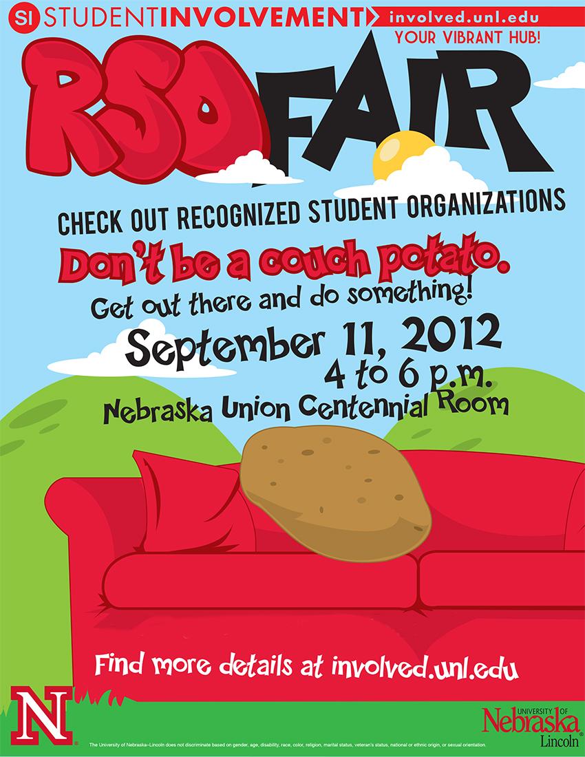 RSO Fair poster