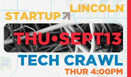 Startup Week Tech Crawl Sept. 13, 4-7 p.m.