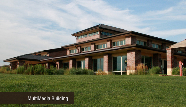 Sandhills Publishing's Multimedia Building