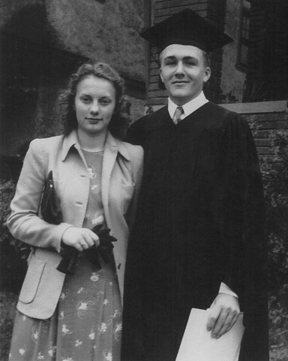 Charlotte and Del Lienemann, 1941