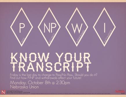 Know Your Transcript