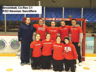 Last year's C1 Champions: RSO Newman Sanctifiers