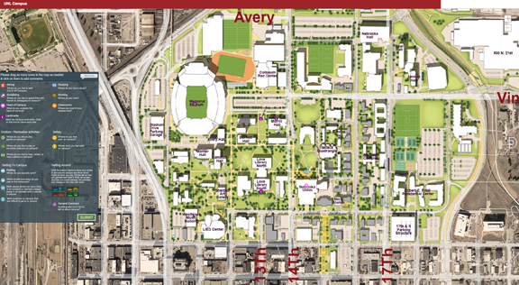 Online Map Entries To Help Shape Campus Master Plans