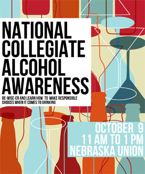National Collegiate Alcohol Awareness is Oct. 9.