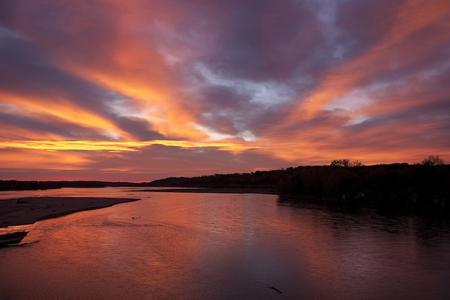 Platte River. Photo:  Craig Chandler, University Communications
