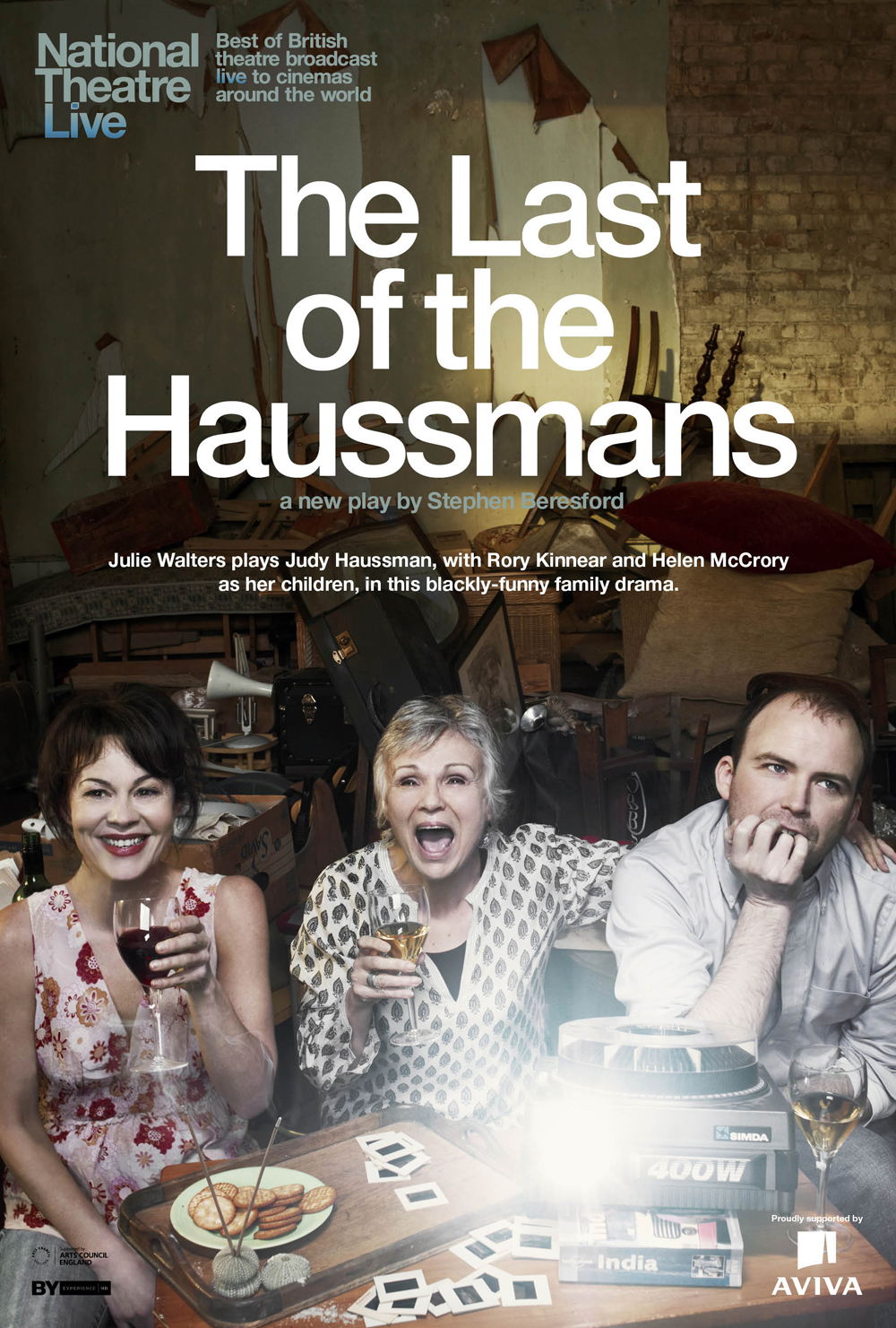 "The National Theatre's ""The Last of the Haussmans"""