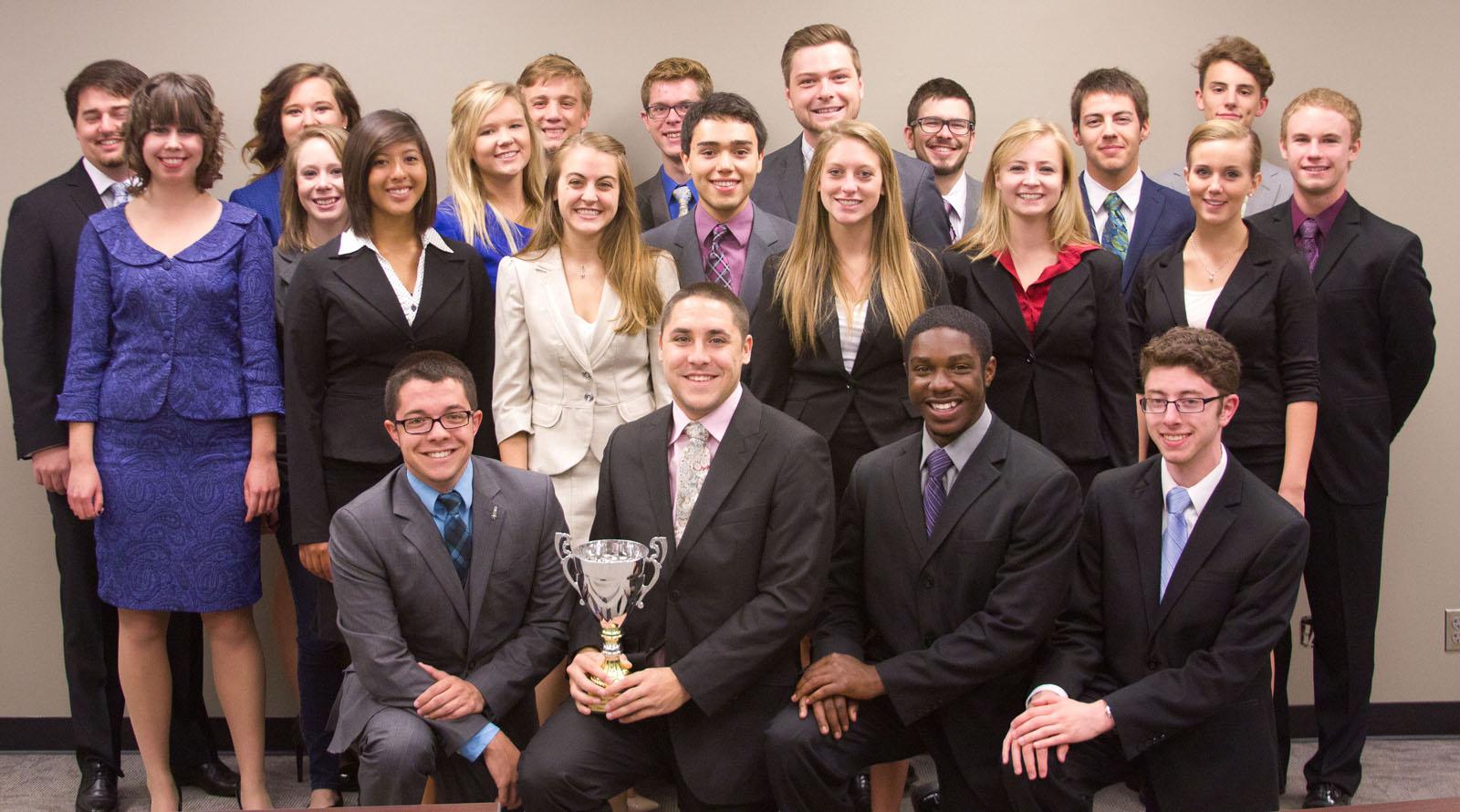 UNL Big Ten champion Speech and Debate team.