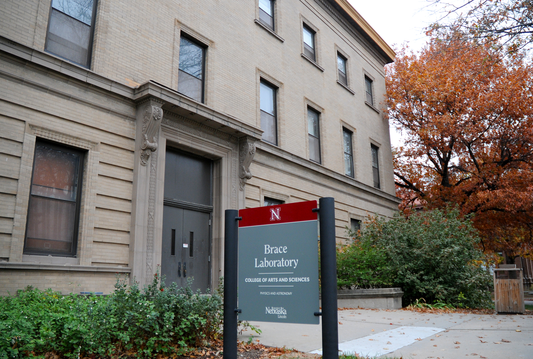 Constrcuted in 1904, Brace Laboratory is UNL's second oldest building. The NU Regents will consider a renovation for Brace.