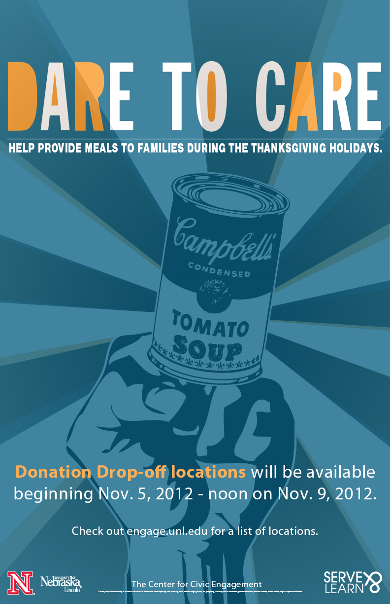 Dare to Care Food Drive Announce