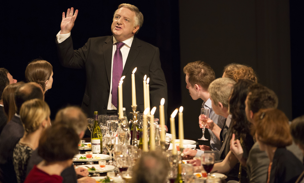 "Simon Russell Beale in ""Timon of Athens."""