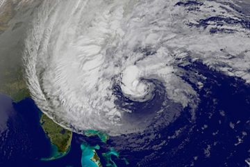 View of Hurricane Sandy on Oct. 30 - livescience.com