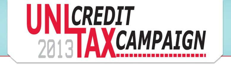 UNL Tax Credit Campaign 2013