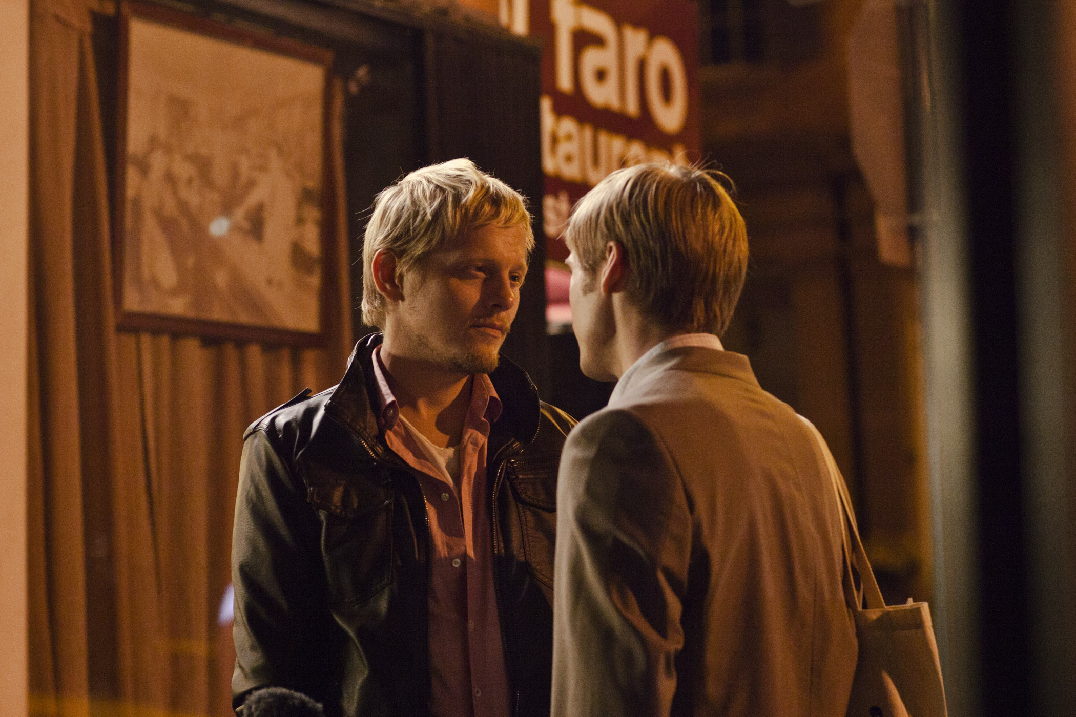 """Thure Lindhardt and Zachary Booth star in """"Keep The Lights On."""" The film opens today at the Mary Riepma Ross Media Arts Center."""