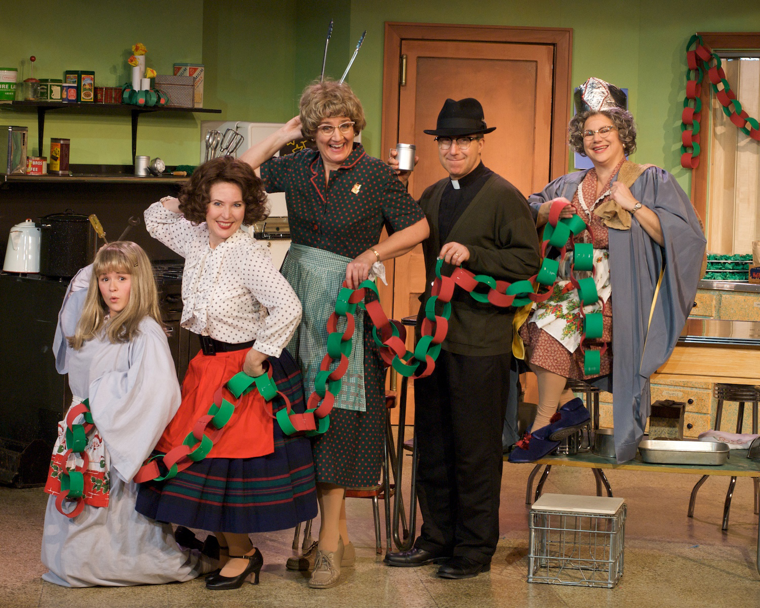 """""""Away in the Basement: A Church Basement Ladies Christmas"""" will play three performances at the Lied Center, Dec. 7-9."""