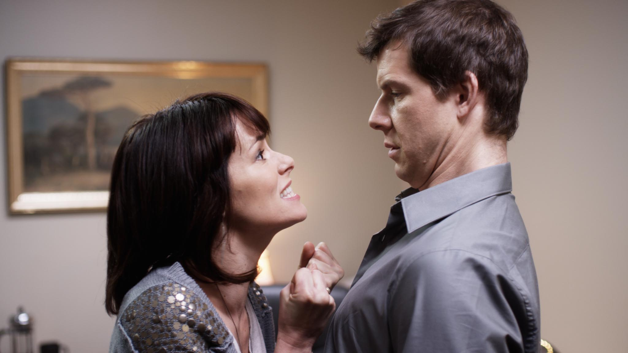 "Parker Posey and Eric Mabius in ""Price Check"""