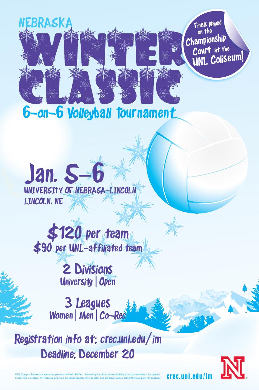 Nebraska Winter Classic Volleyball Tournament