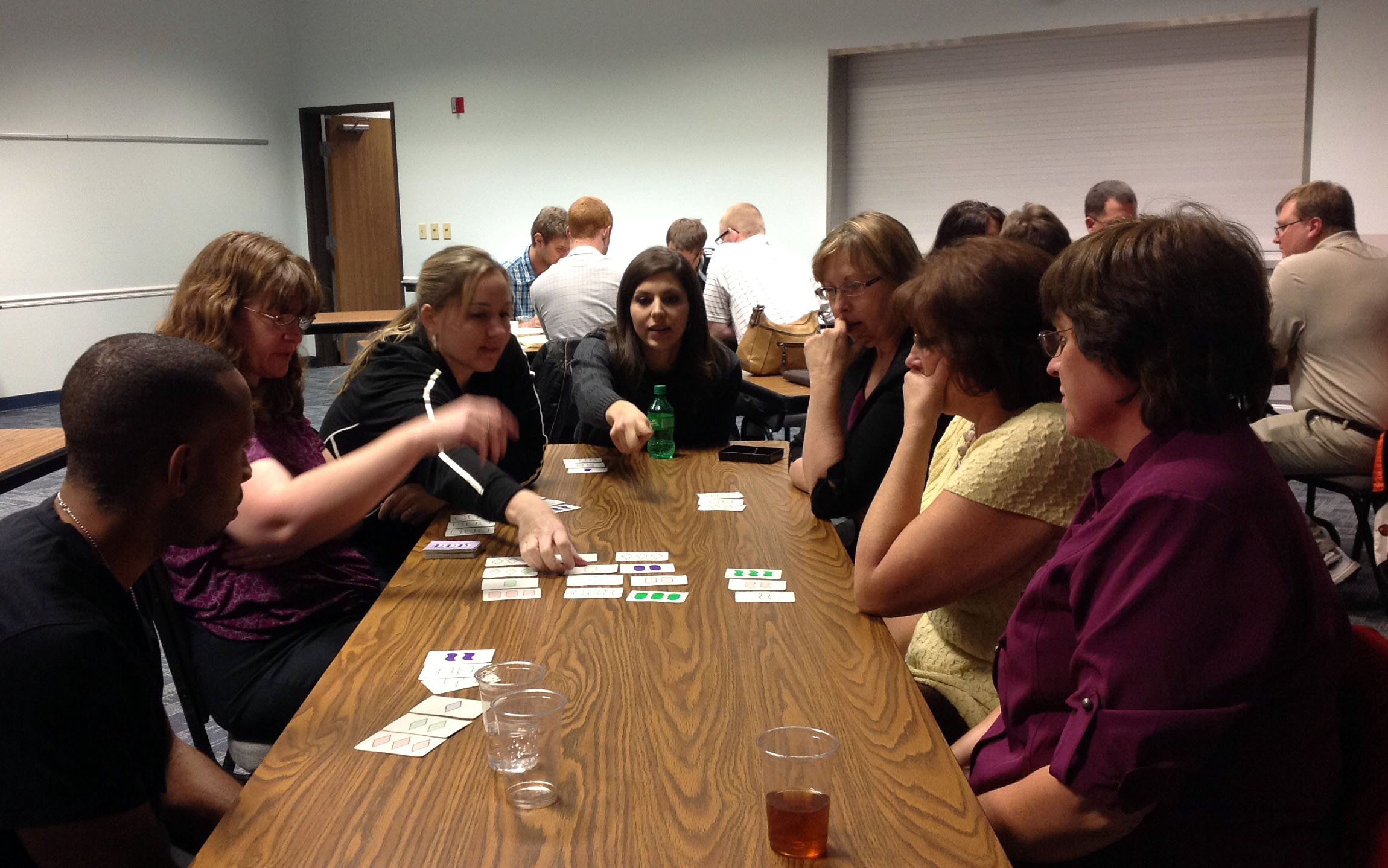 Dinner and a Math Problem met in Scottsbluff on Dec. 3.