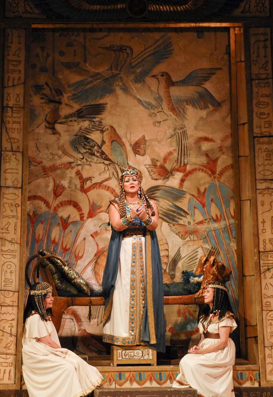 "Scene from ""Aida."""