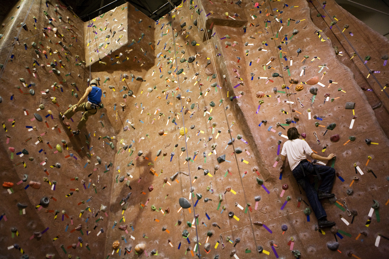 Campus Recreation is one UNL venue open during much of the semester break.