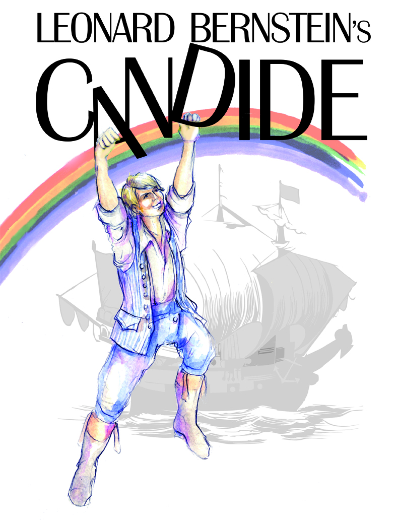 """Candide"" will be presented Feb. 21-23 at 7:30 p.m. and Feb. 24 at 3 p.m. in Kimball Recital Hall."