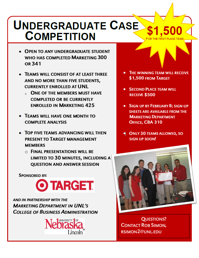 Target Case Study Competition