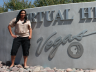 Public Media Intern Shawna Begay (Navajo) at Vegas PBS.