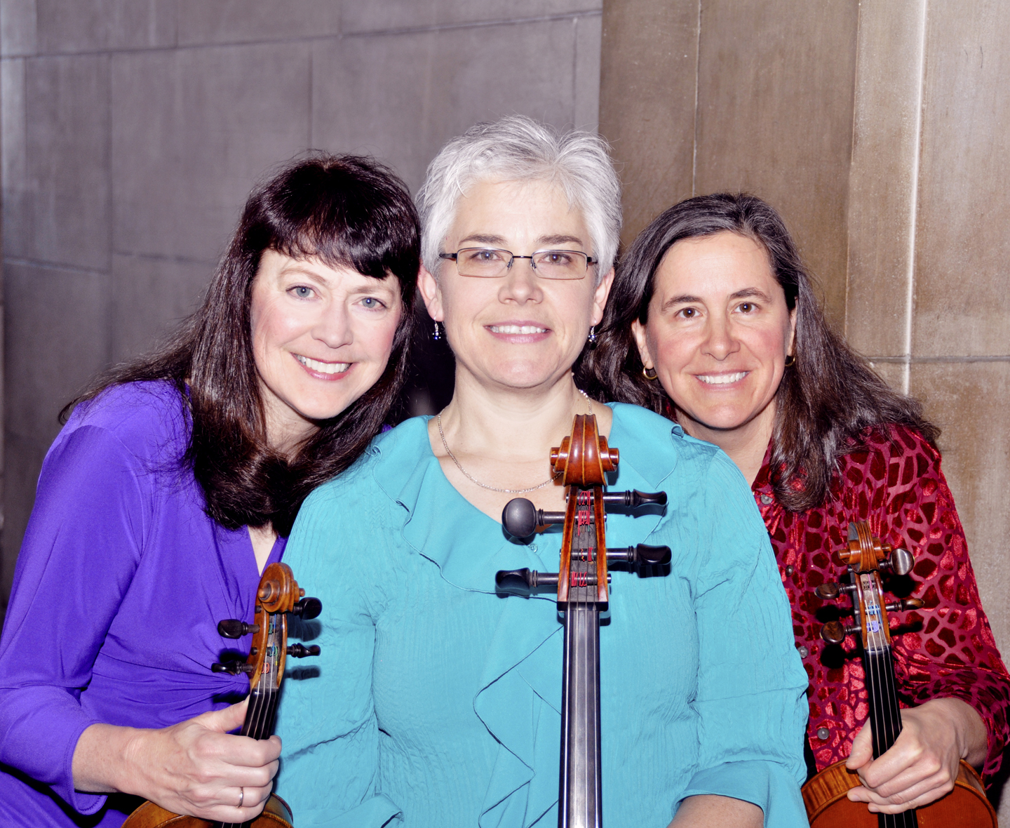 The Concordia Trio includes (from left) Marcia Henry Liebenow, Karen Becker and Leslie Perna.