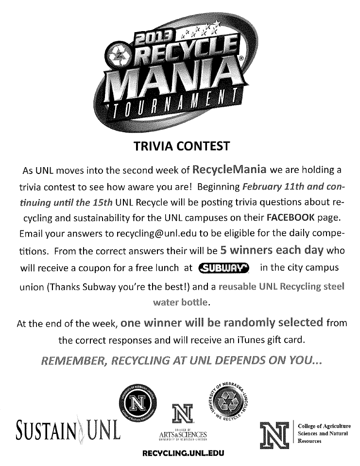 2013 Recycle Mania Tournament: Week 2