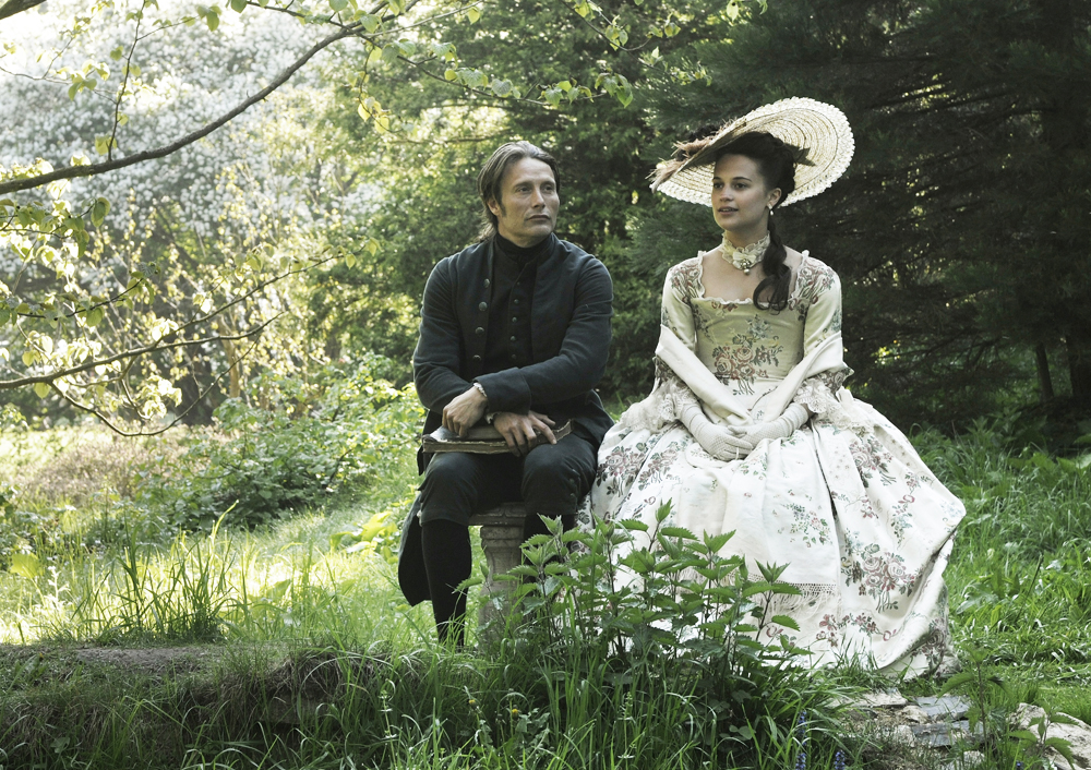 """A scene from the Oscar-nominated film """"A Royal Affair."""""""