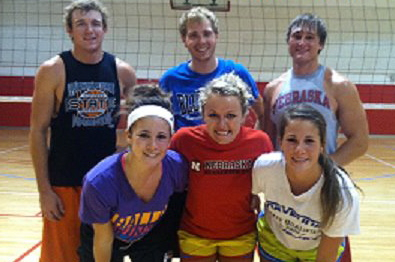 Last year's Volleyball Co-Rec B Champs - the Bumpin Uglies CW