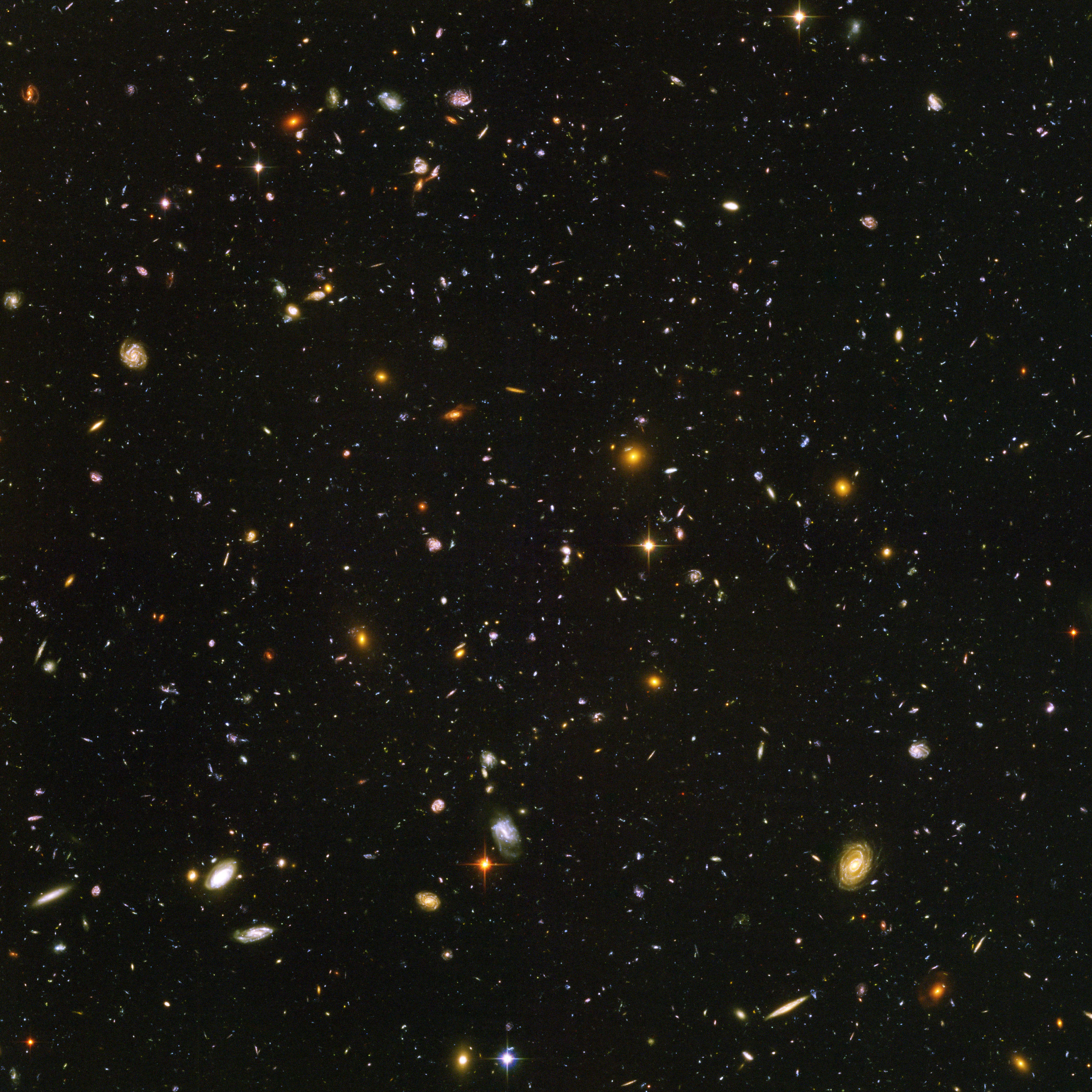 Hubble Ultra Deep Field (NASA image)