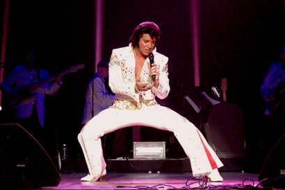 """The """"Elvis Lives"""" multimedia performance includes three of the top Elvis performers in the country. (Courtesy photo)"""