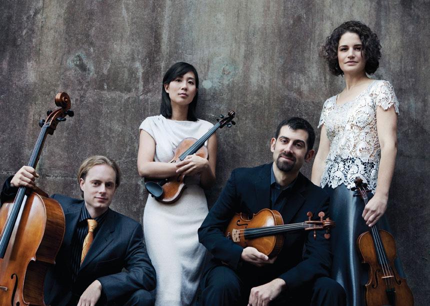 Chiara String Quartet. (Lisa-Marie Mazzucco, courtesy photo)