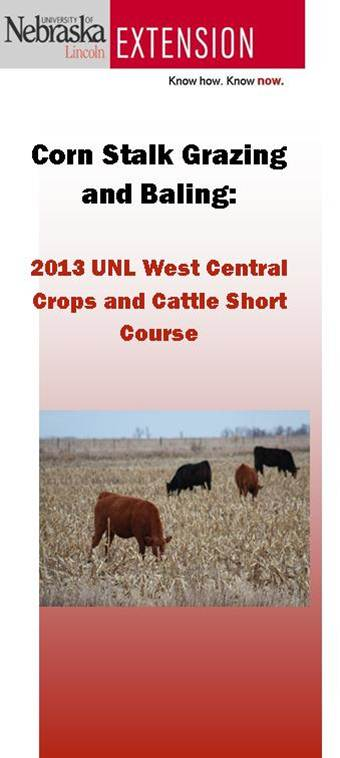 2013 UNL West Central Crops and Cattle Short Course