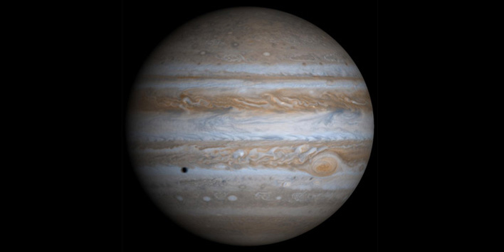 Jupiter is one of the celestial objects featured at the March 8 public night at Behlen Observatory. Photo courtesy of NASA.