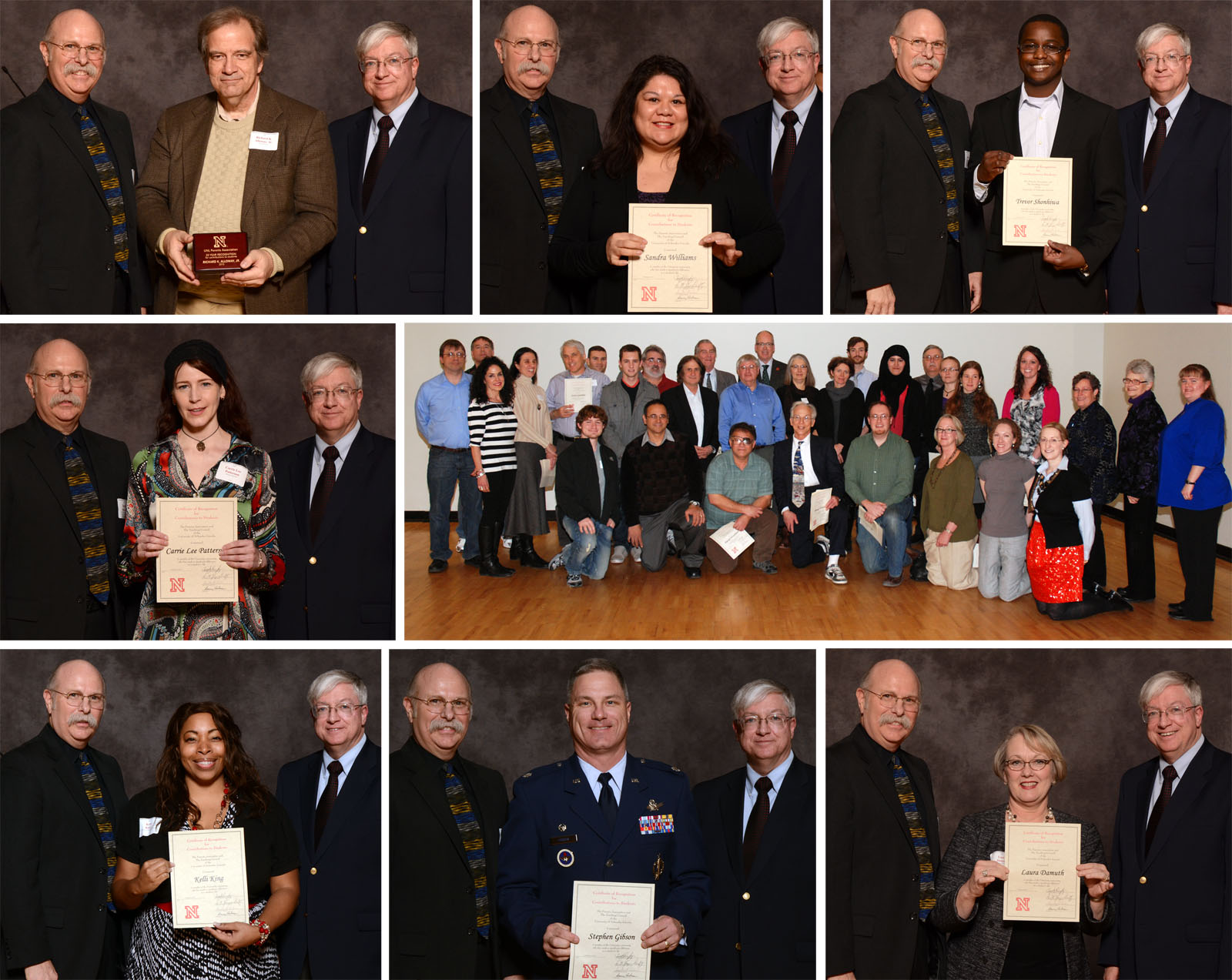 More than 140 faculty and staff were honored by the UNL Parents Association on Feb. 8.