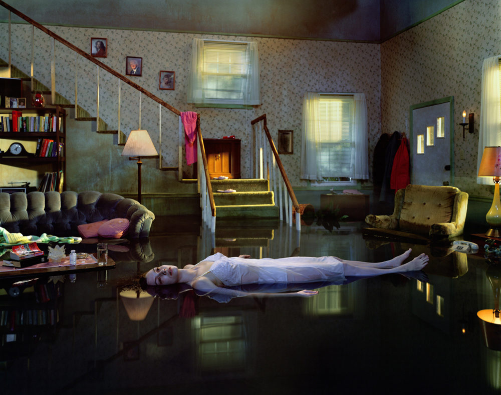 A photo by Gregory Crewdson