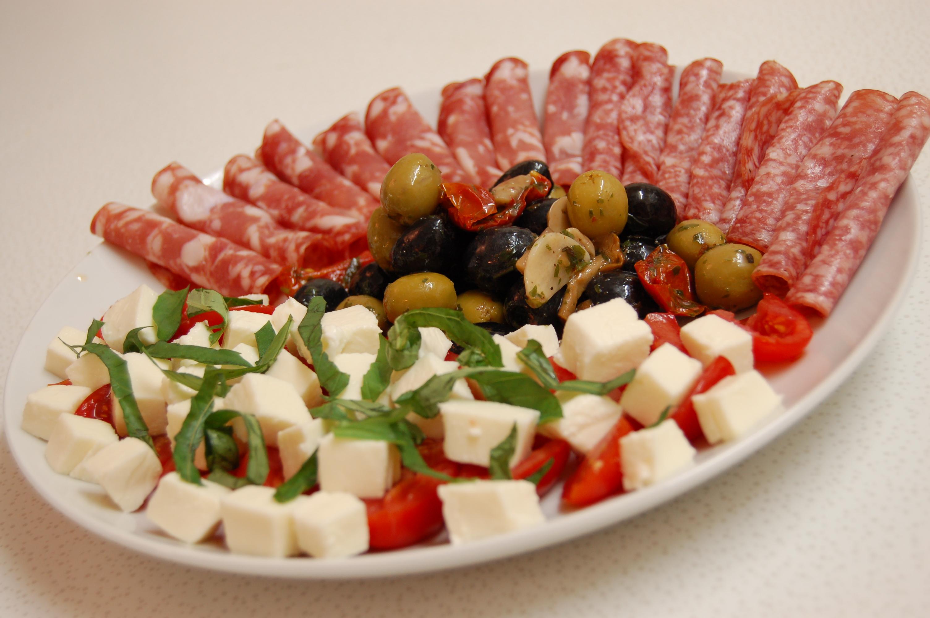 Antipasto (Italian appetizers)