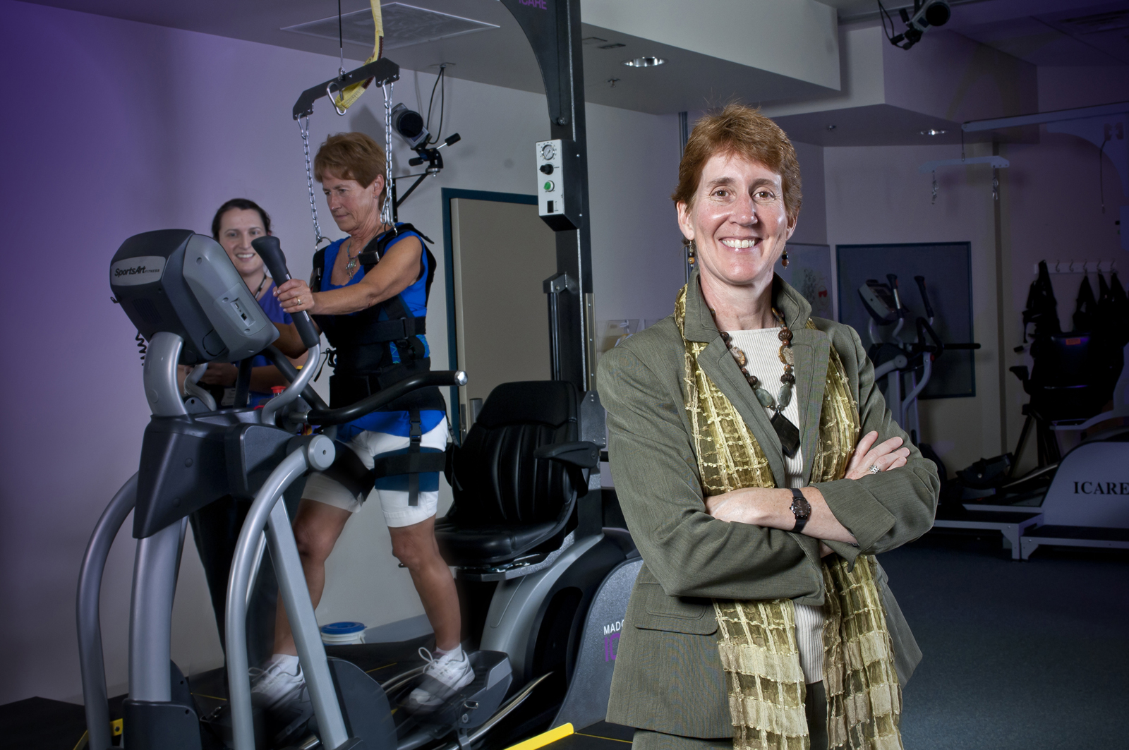 Judith Burnfield of Madonna Rehabilitation Hospital, has been named director of the Nebraska Athletics Performance Lab.