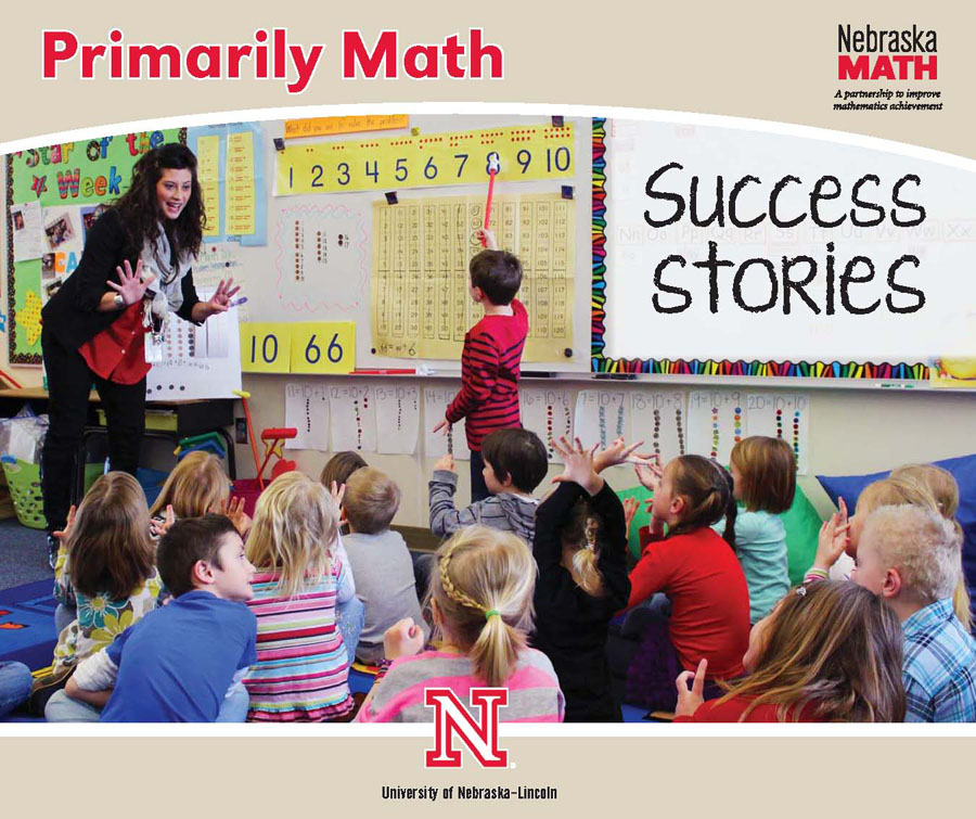 2013 Primarily Math magazine Success Stories