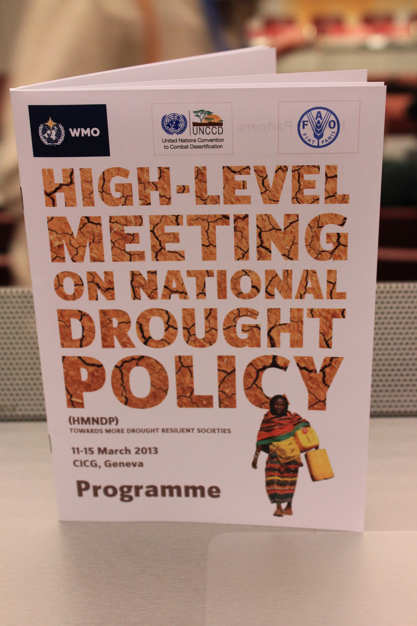 The High Level Meeting on National Drought Policy, March 11-15, included several presentations by School of Natural Resources faculty and staff