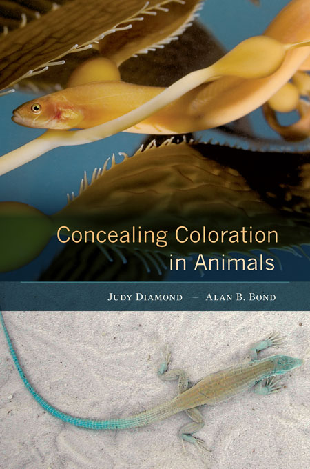 """Concealing Coloration in Animals"" is a new book written by UNL's Judy Diamond and Alan Bond."
