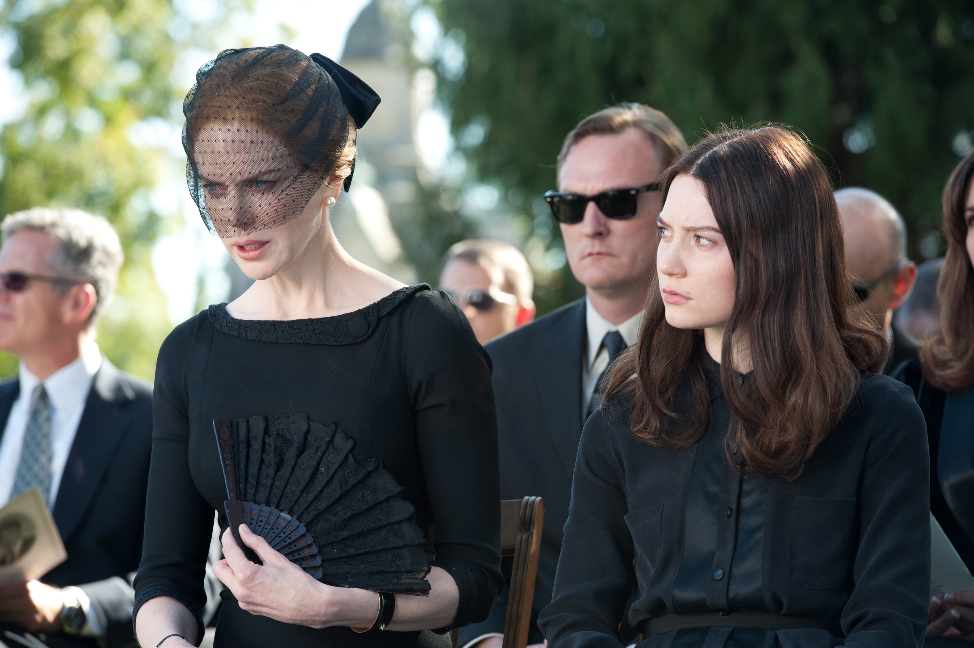 "Nicole Kidman and Mia Wasikowska in ""Stoker."""
